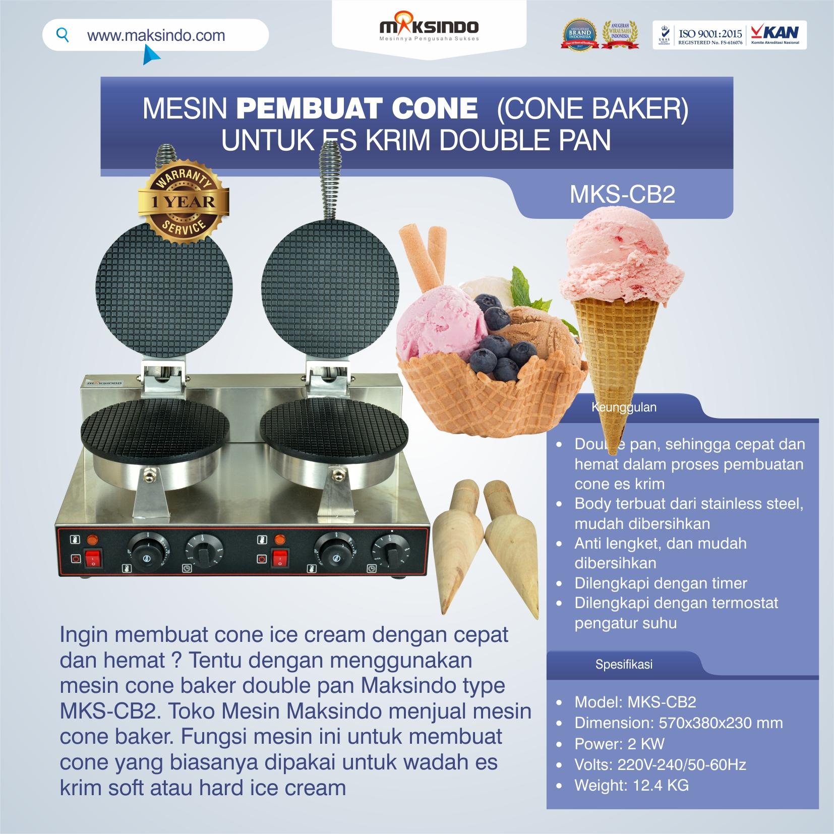 Jual Pembuat Cone Ice Cream (CB2) di Tangerang