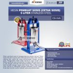 Jual Mesin Pembuat Sosis (Cetak Sosis) Stainless Steel di Tangerang