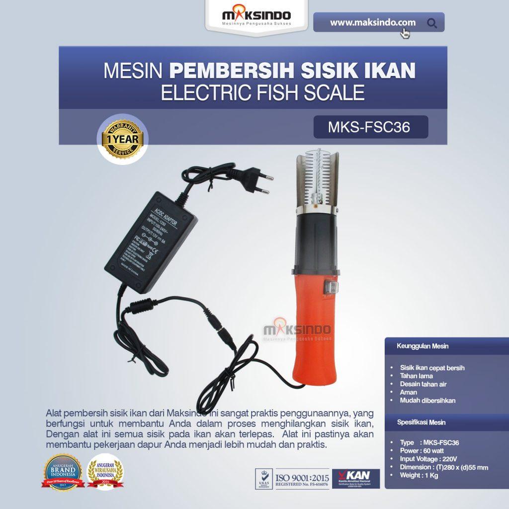 Pembersih Sisik Ikan Electric Fish Scale MKS-FSC36