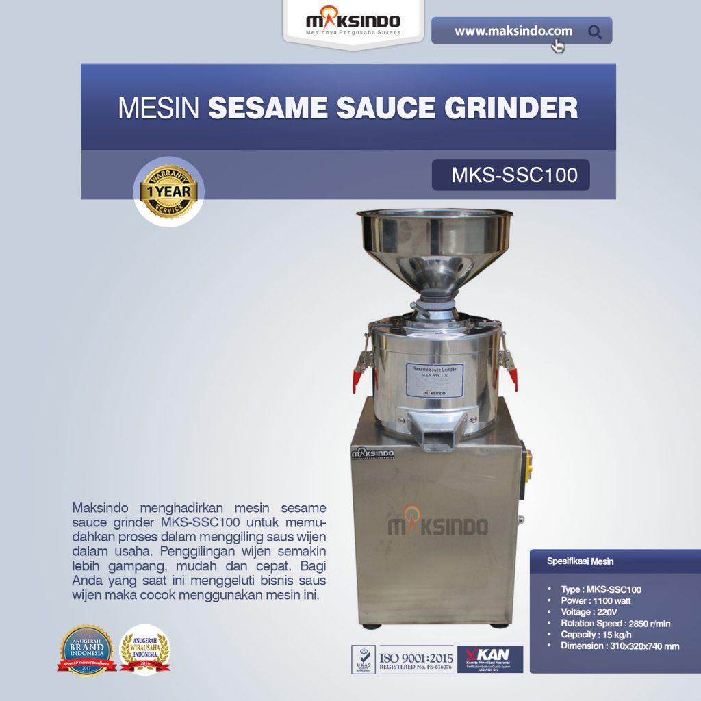 Sesame Sauce Grinder MKS-SSC100