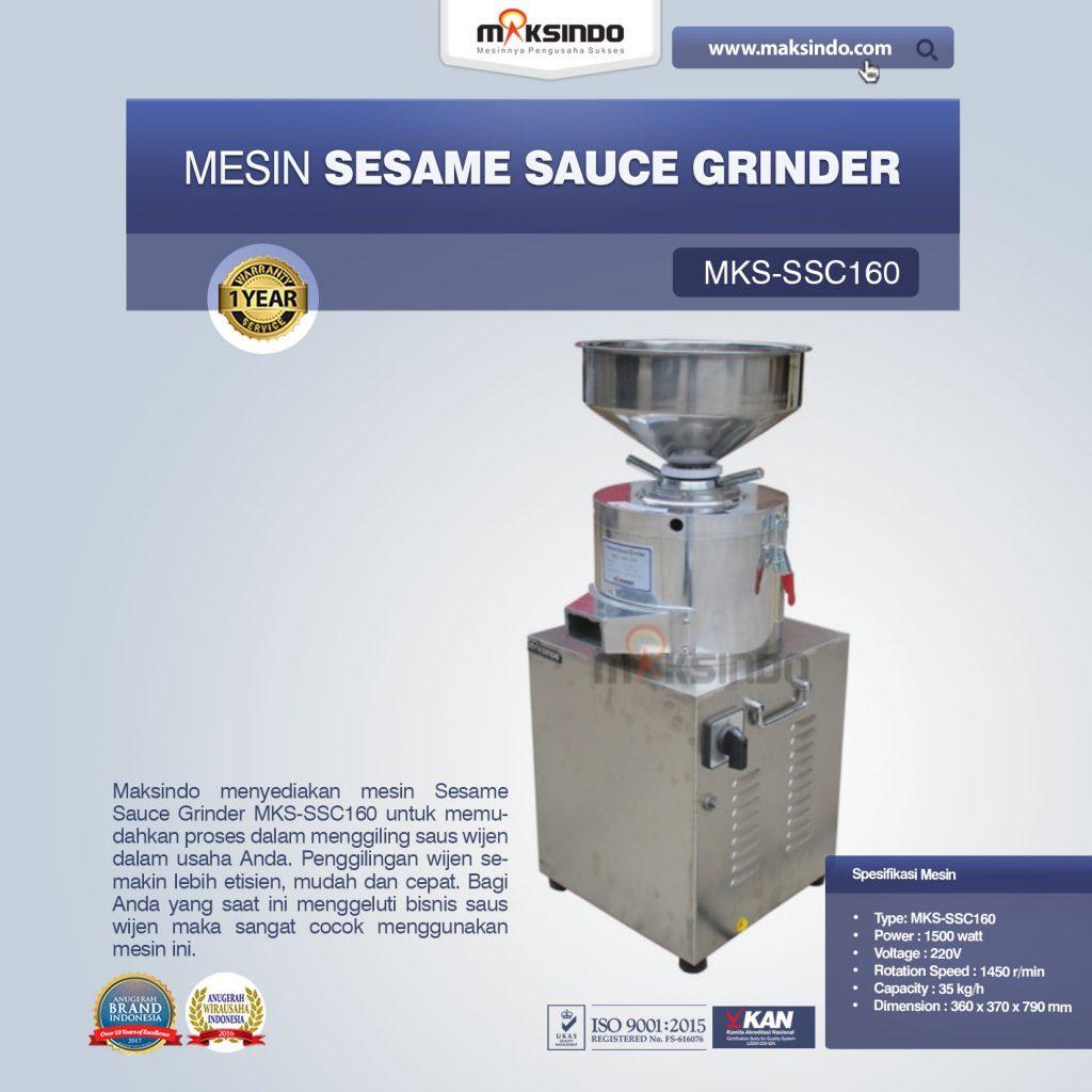 Sesame Sauce Grinder MKS-SSC160