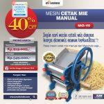 Jual Cetak Mie Manual Untuk Usaha (MKS-150) di Tangerang
