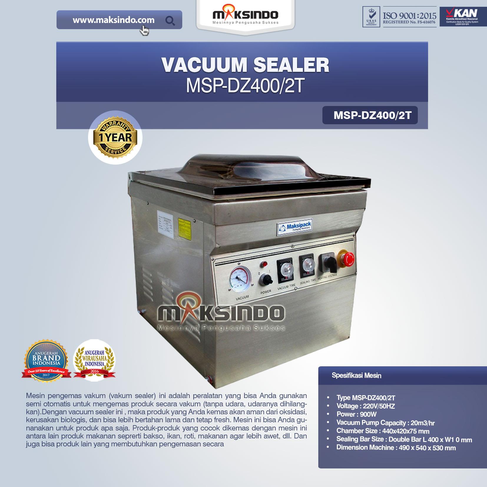 Vacuum Sealer MSP-DZ400 2T