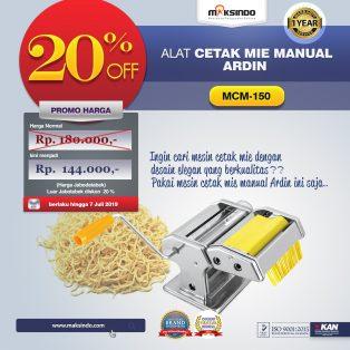 Jual Cetakan Mie Manual Rumah Tangga ARDIN di Tangerang