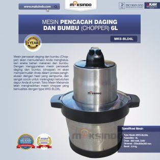 Jual Mesin Pencacah Daging dan BumbuMKS-BLD6L di Tangerang