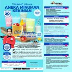 Training Usaha Aneka Minuman Kekinian, Sabtu, 20 April 2019