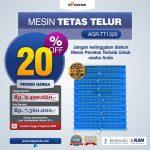 Jual Mesin Penetas Telur AGR-TT1320 di Tangerang