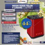 Jual Mesin Sosis Telur 4 Lubang Grillo-400 Listrik di Tangerang