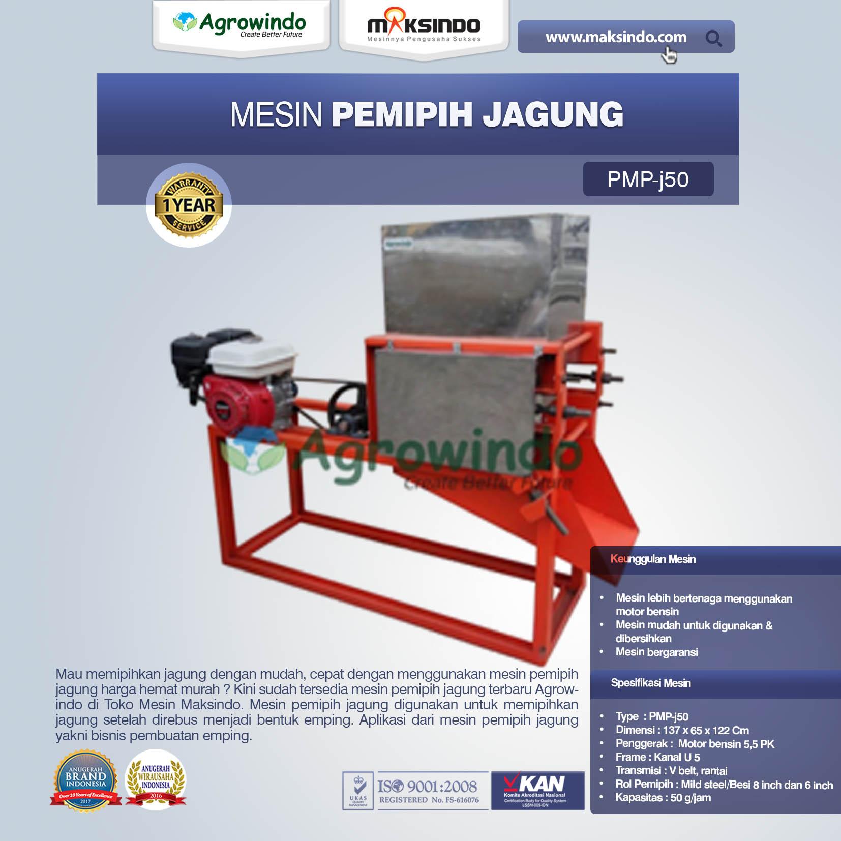 Mesin Pemipih Jagung PMP-J150