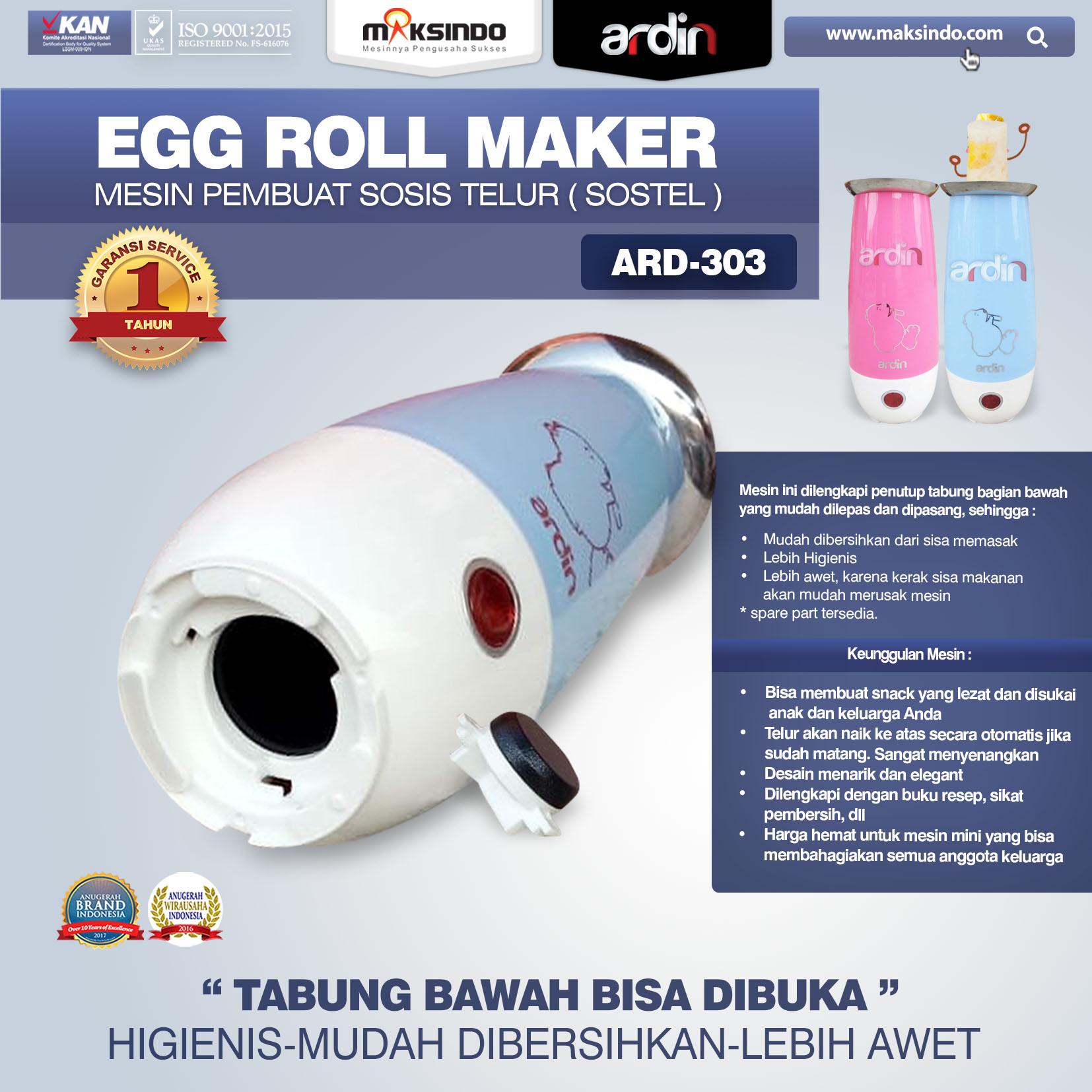 ARD-303 Egg Roll Maker