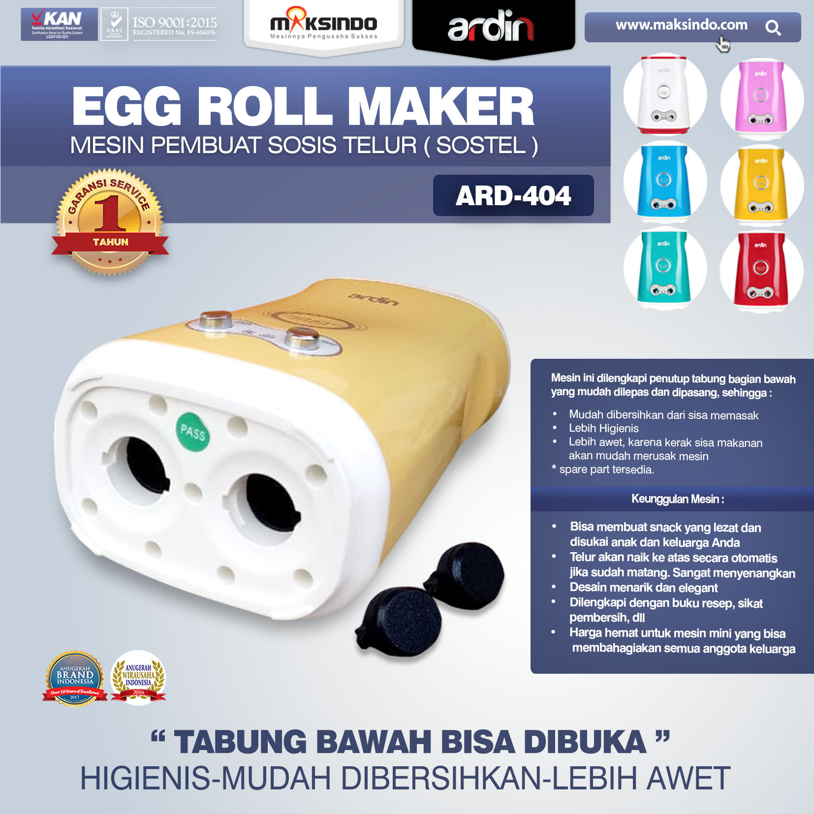 ARD-404 Egg Roll Maker