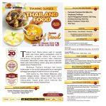 Training Sukses Thailand Food Untuk Usaha, Sabtu 26 Oktober 2019