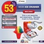 Jual Mesin Ice Crusher MKS-CRS30 di Tangerang