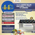 Jual Mesin Pembuat Egg Roll (Listrik) MKS-ERG001 di Tangerang