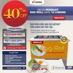 Jual Egg Roll Gas 10 Lubang GRILLO-GS10 di Tangerang