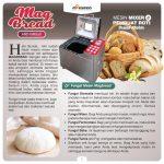 Jual Mixer dan Pembuat Roti (Bread Maker) ARD-BM55X di Tangerang