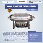 Jual Oval Chafing Dish 5 Liter di Tangerang