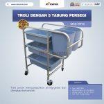 Jual Troli Dengan 5 Tabung Persegi MKS-TRY5 di Tangerang