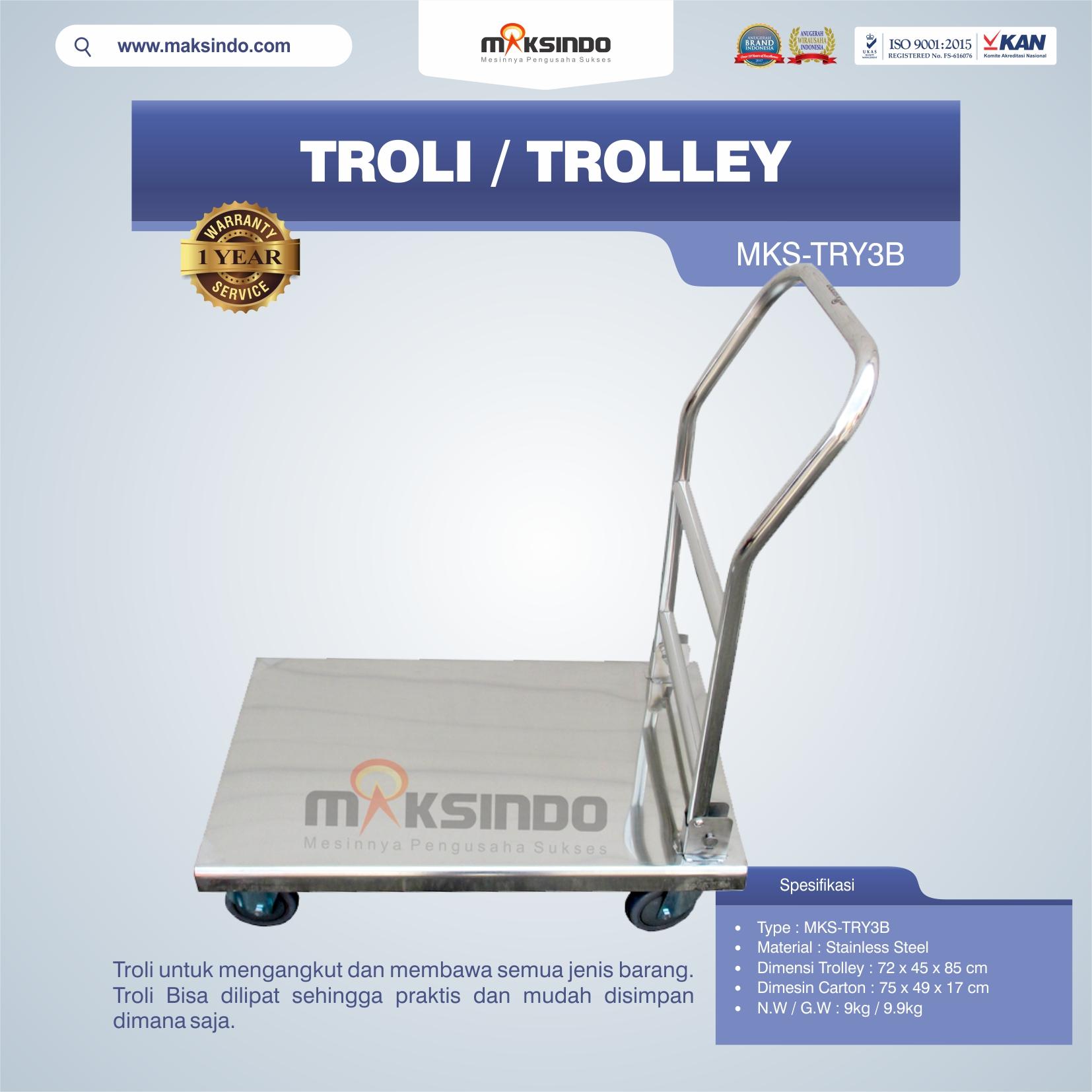 Troli-Trolley-MKS-TRY3B