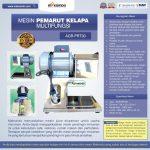 Jual Mesin Pemarut Kelapa Multifungsi AGR-PRT30 di Tangerang