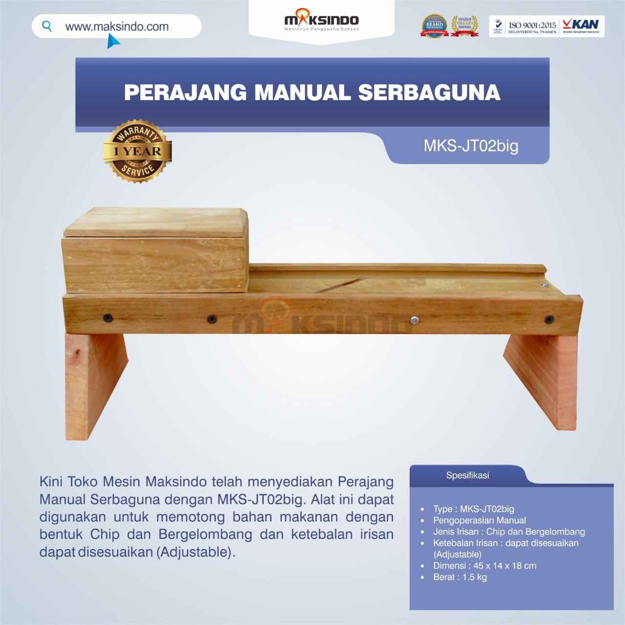 Jual Perajang Manual Serbaguna MKS-JT02big di Tangerang