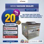 Jual Vacuum Sealer Double Seal MSP-DZ400/2T di Tangerang