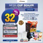 Jual Cup Sealer Manual Plus Counter (CPS-919) di Tangerang