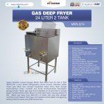 Jual Gas Deep Fryer 24 Liter 2 Tank (G74) di Tangerang