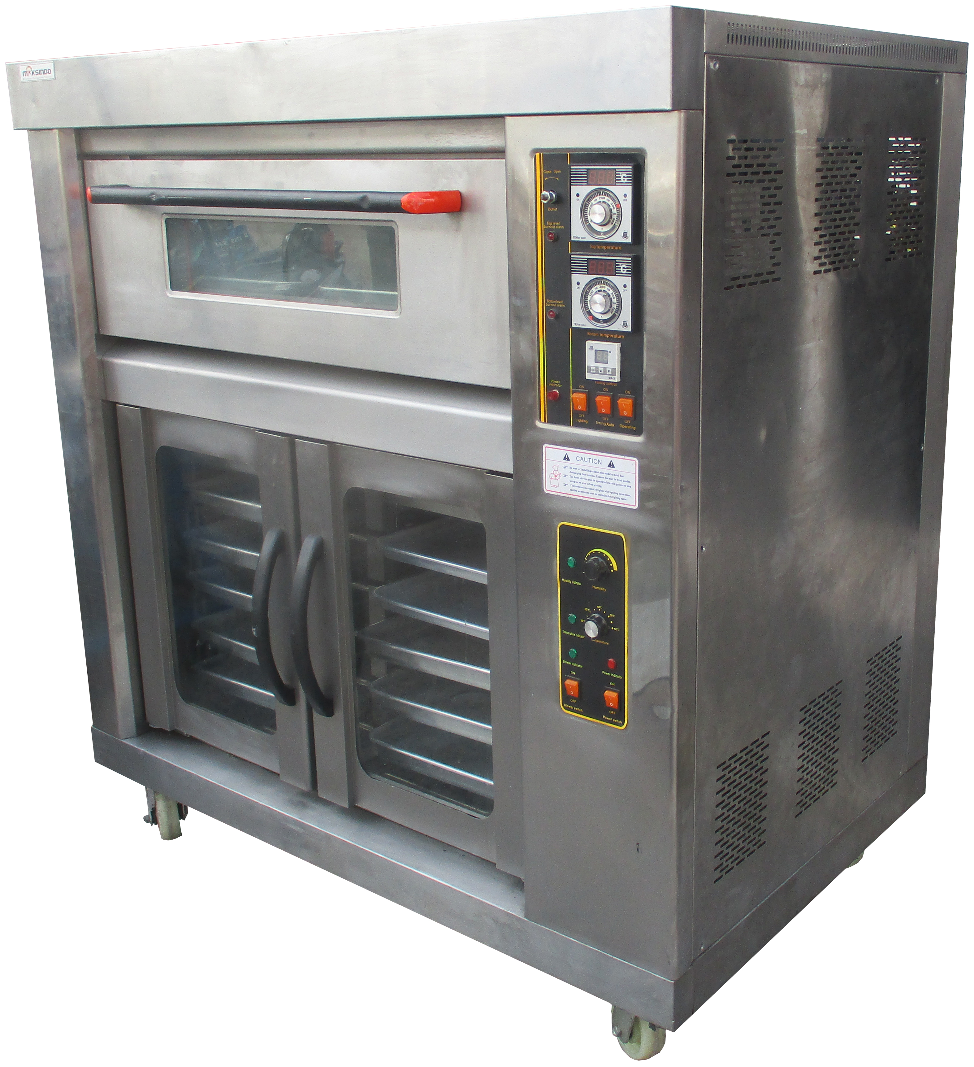 Hot Deal Mesin Combi Deck Oven + Proofer MKS-RS12+Proofer