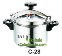 Jual Panci Presto Alumunium 7 -135 Liter di Tangerang