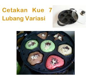 Jual Cetakan Kue 7 Lubang Variasi di Tangerang