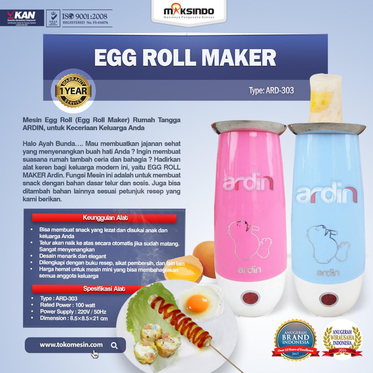 Jual Egg Roll Maker (ARD-303) di Tangerang