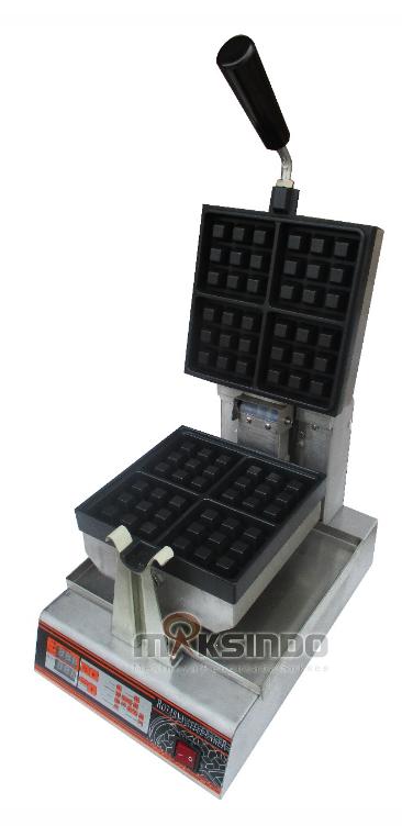 Jual Mesin Waffle Bentuk Kotak (WF-60) di Tangerang