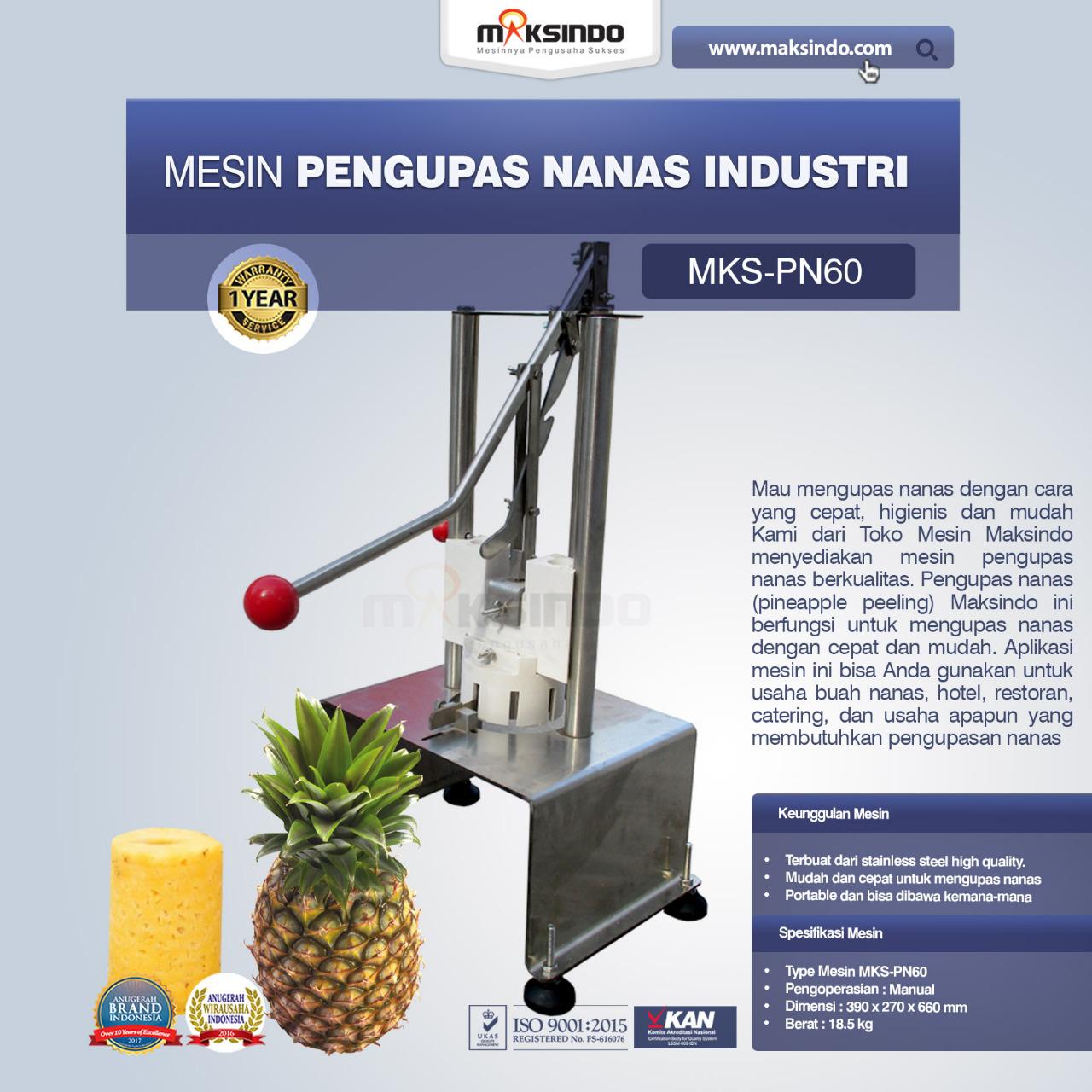 Jual Pengupas Nanas Industri di Tangerang