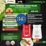 Jual Mesin Sosis Telur 2 Lubang ARDIN ARD-505 di Tangerang