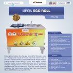 Jual Mesin Egg Roll ERG-789 di Tangerang
