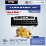 Jual Mesin Vacuum Sealer VS02 Ardin (basah dan kering) di Tangerang