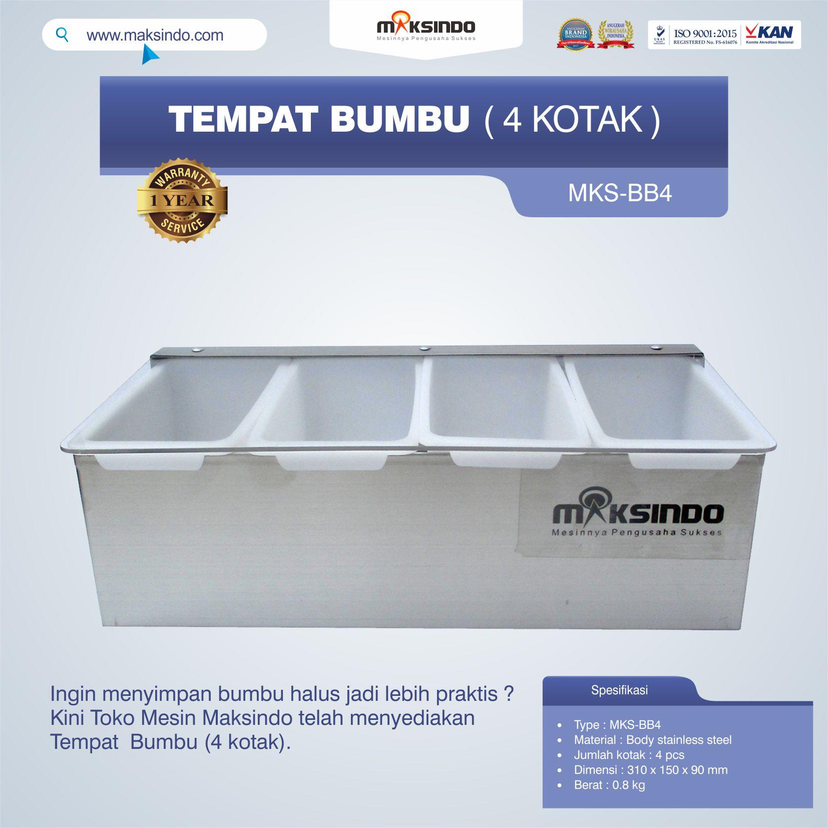 Jual Tempat Bumbu (4 kotak) di Tangerang
