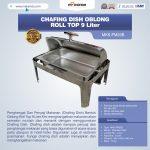 Jual Chafing Dish Oblong Roll Top – 9 Liter di Tangerang