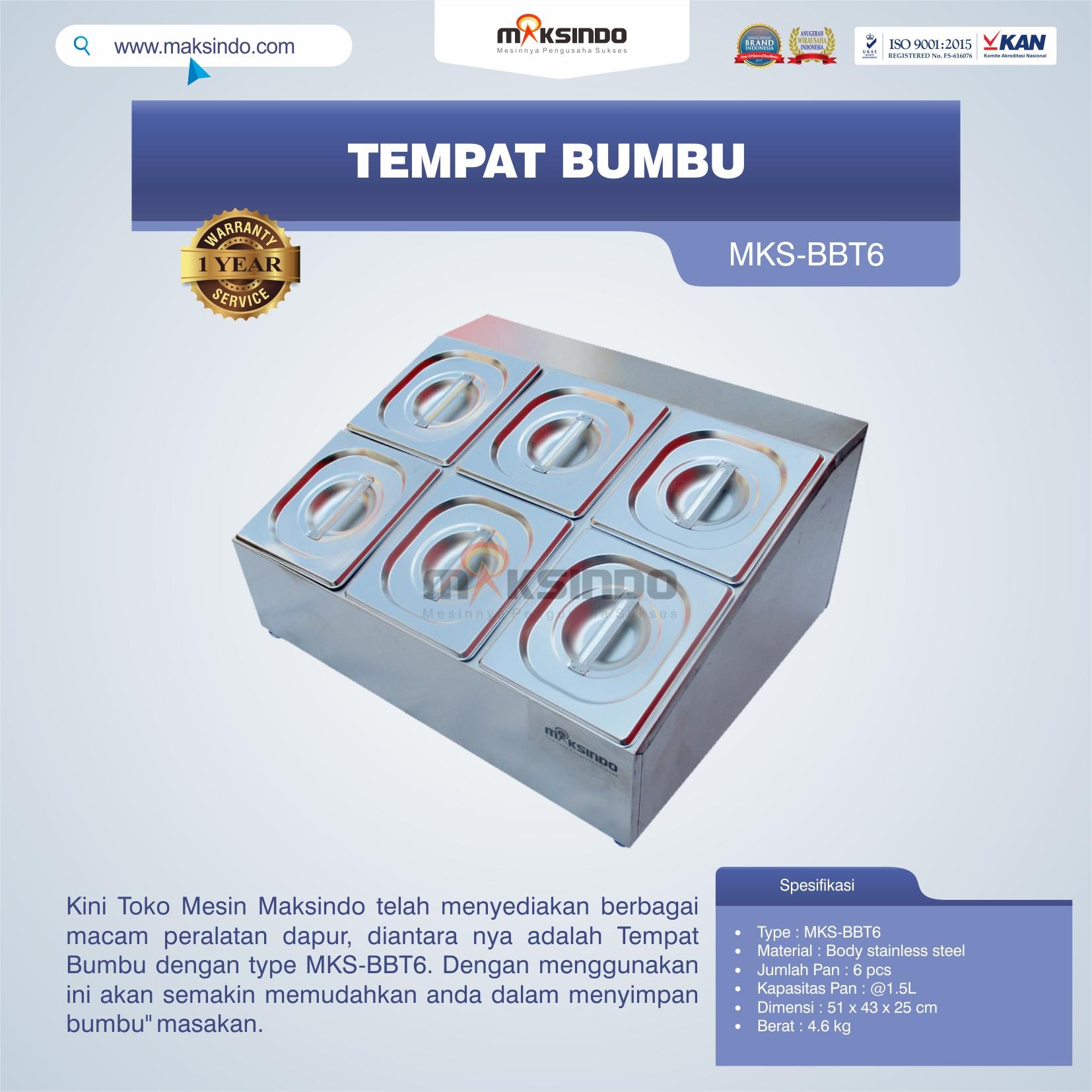 Jual Tempat Bumbu MKS-BBT6 di Tangerang