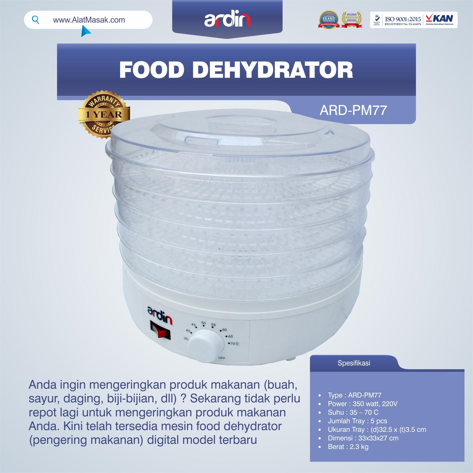 Jual Food Dehydrator ARD-PM77 di Tangerang